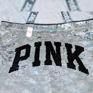 VICTORIA'S SECRET PINK | Reversable Sequin Tote